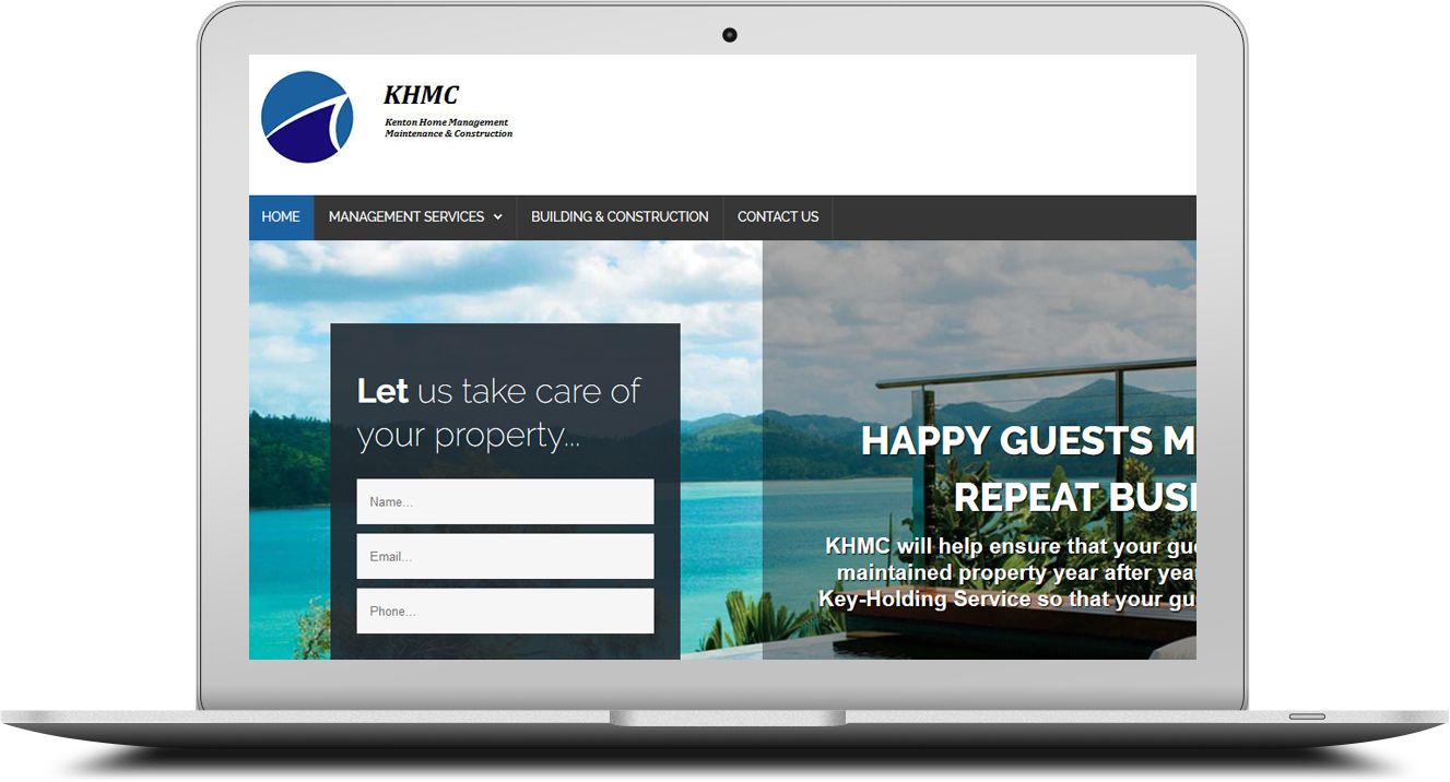 Professional website design for khmc.co.za
